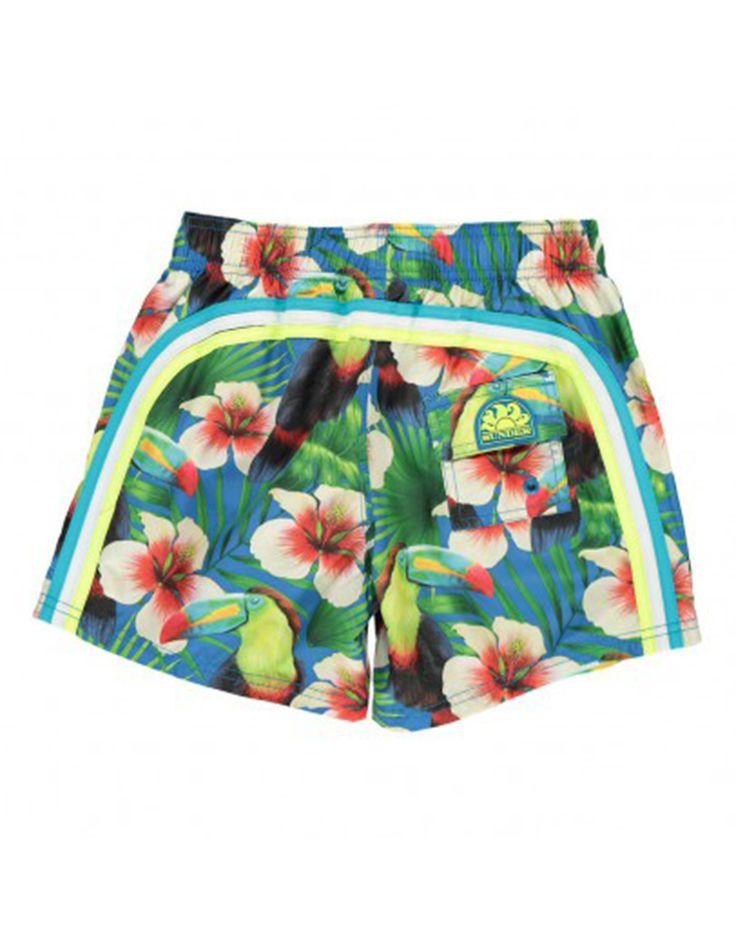 SUNDEK Boys Hawaiian Print Swim Short. Shop online: http://www.tilltwelve.com/en/eur/product/1089497/SUNDEK-Boys-Hawaiian-Print-Swim-Short/