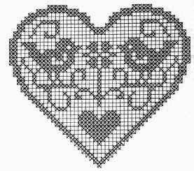 crochet em revista: Corações                                                                                                                                                                                 Mais