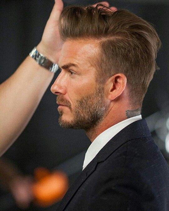 David Beckham Hair Pinterest Beckham Hair Beckham Haircut And