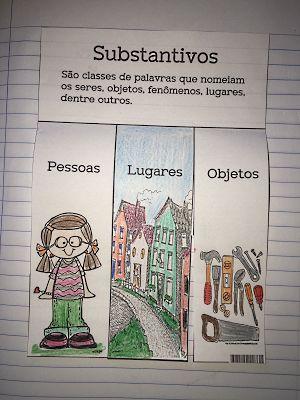 SOS PROFESSOR-ATIVIDADES: Substantivos