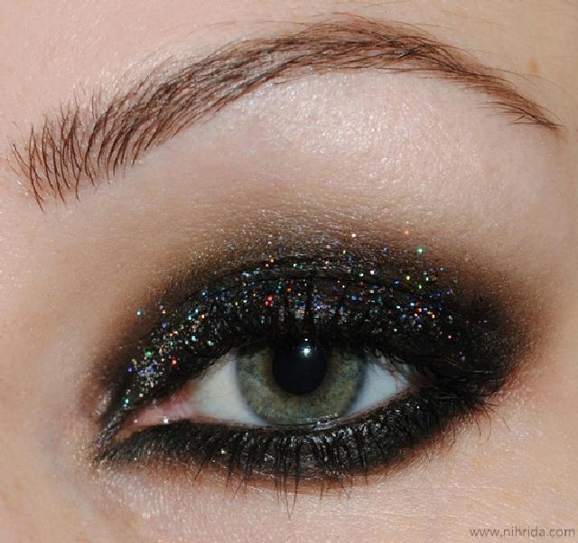 Mac glitter eyes makeup face! Pinterest