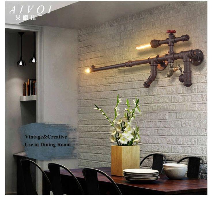 Loft industriële wandlampen creative home verlichting