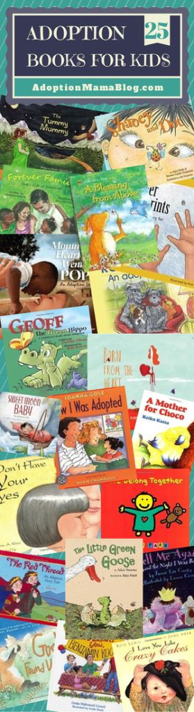 25 Top Adoption Books for Children