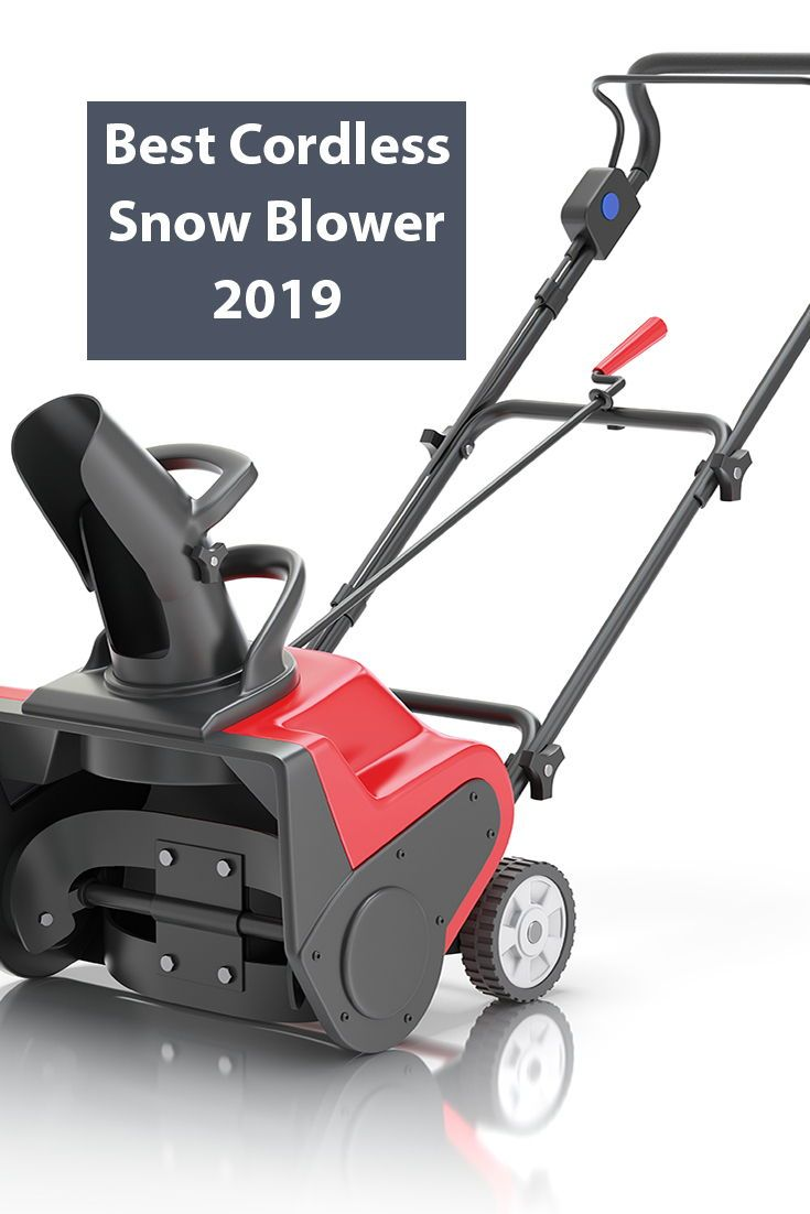Top 4 Best Cordless Snow Blowers To Have This Winter In 2020