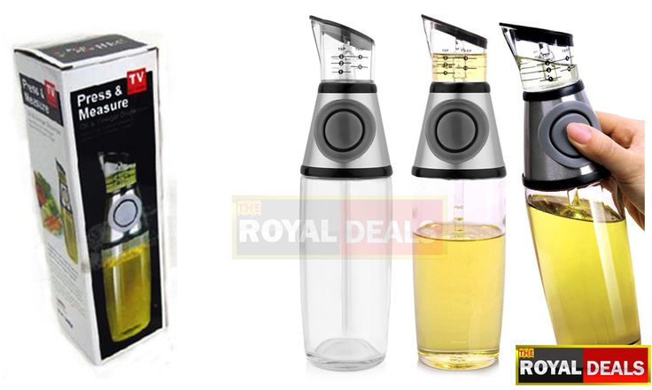 Oil and Vinegar Measuring Cruet Drizzler Set, Press-and-Measure Oil and Vinegar Dispenser just for AED 35 Royal it! http://www.theroyaldeals.com/index.php/deal/24/oil-and-vinegar-measuring