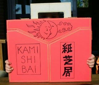DIY manualidad: hacemos un kamishibai, teatro de madera o cartón para inventar y contar historias con láminas ilustradas