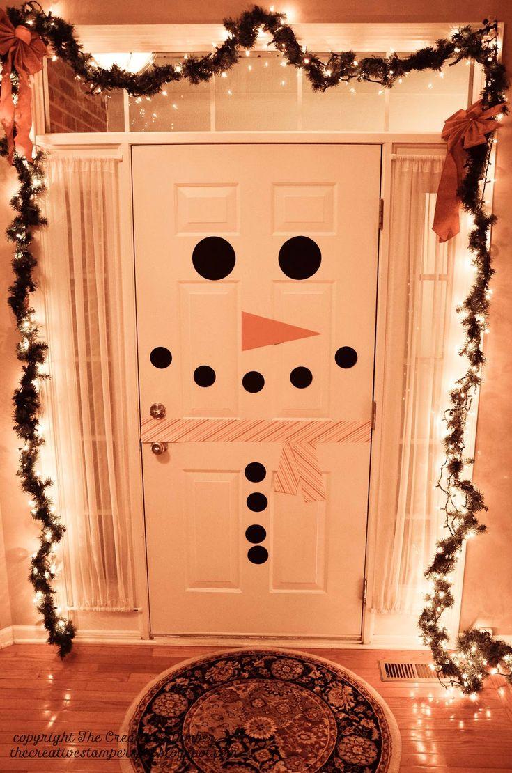 Girls would love to do this on backdoor ...Snowman door