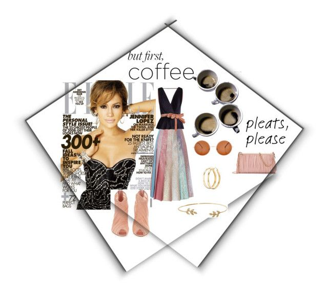 """""""Coffee...in Pleats"""" by sahelirima ❤ liked on Polyvore featuring DIVA, Gucci, Roksanda, LC Lauren Conrad, Dolce&Gabbana, Charlotte Russe, Humble Chic, coffee, pleats and coffeebreak"""
