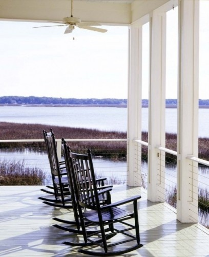 porch by the water