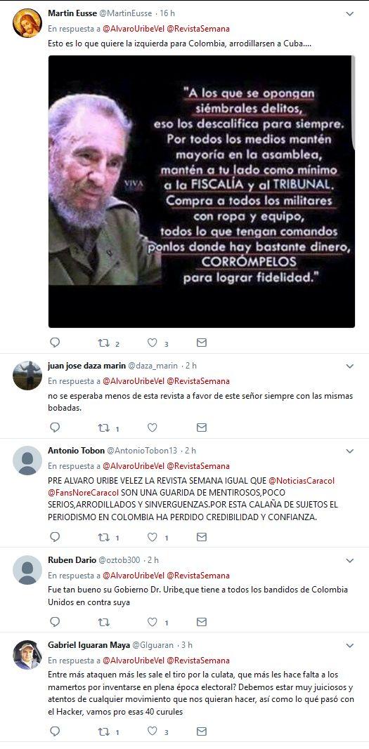 Expresidente Uribe pone en aprietos a la Revista SEMANA ¿Publicará declaración notarial desmintiendo a Daniel Coronell? | El Nodo Colombia