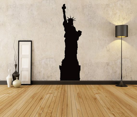 Statue Of Liberty Wall Decals Vector Art By TheVinylStickerShop Part 74