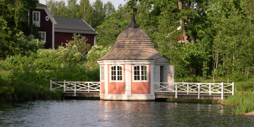 Sveriges äldsta bevarade lusthus.
