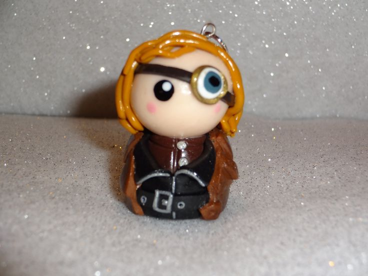 Chibi: Mad-Eye Moody from Harry Potter. £6.00, via Etsy.