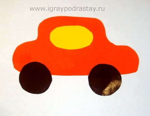 простая аппликация для детей 2-3 лет с шаблоном: 17 тыс изображений найдено в Яндекс.Картинках