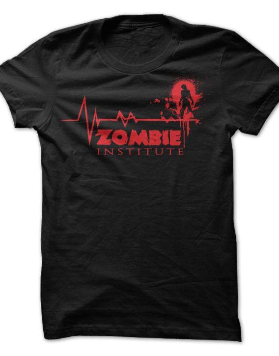 Zombie Institute T Shirt 1