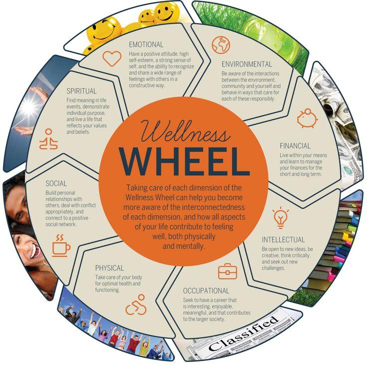 Wellness Wellness wheel, Creating a vision board, Wellness