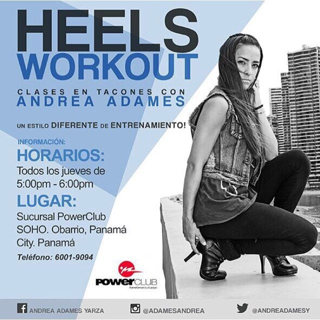 Entrena de manera diferente @powerclubpanama #HeelsWorkout Clases de Baile en Tacones #CualEsTuExcusa #YoEntrenoEnPowerClub GRATIS para socios