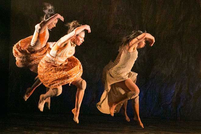 FOLLOWING THE HIGHLY PRAISED WORLD PREMIERE IN SYDNEY BANGARRA DANCE THEATRE PRESENTS - Patyegarang