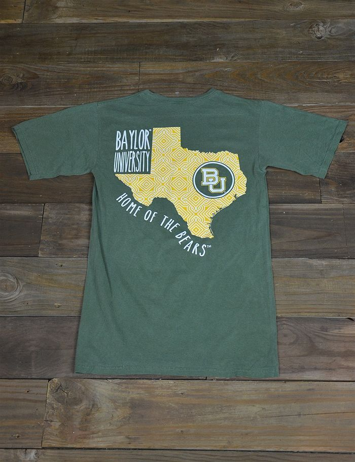 Baylor University is HOME of the amazing Bears! Show your school spirit in this new BU Home of the Bears t-shirt! Sic 'em!