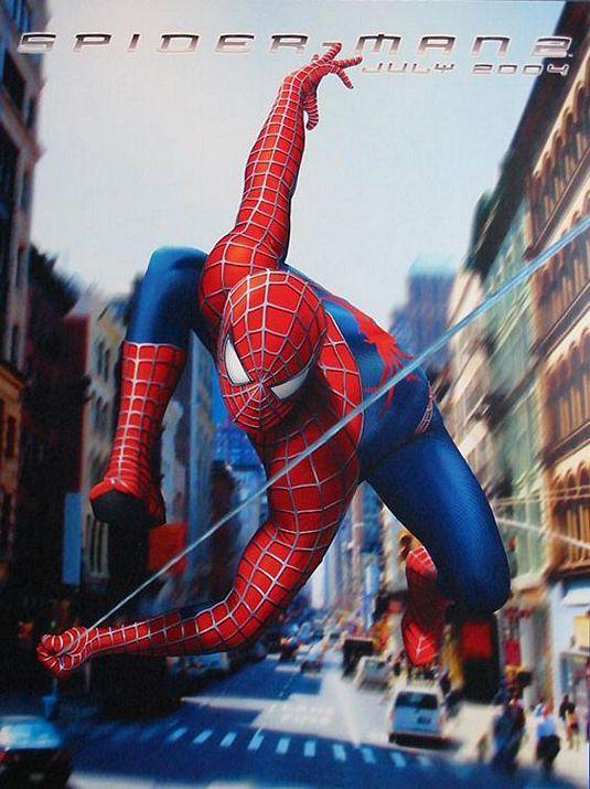 Spider-man 2 Movie Poster (2004)