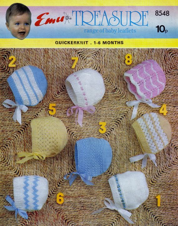 Jarol Knitting Patterns : Baby Machine Knitting Pattern Jarol M9 - Matinee Jacket and Dress 16 to 20ins...