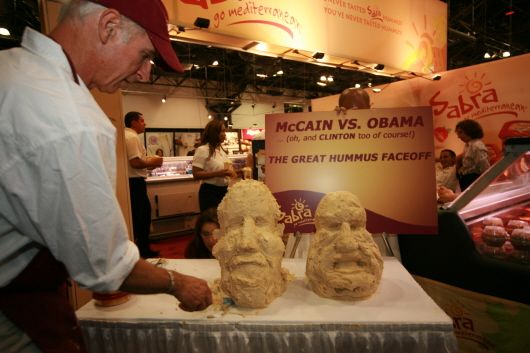 Obama vs McCain #Sabra #Sweepstakes
