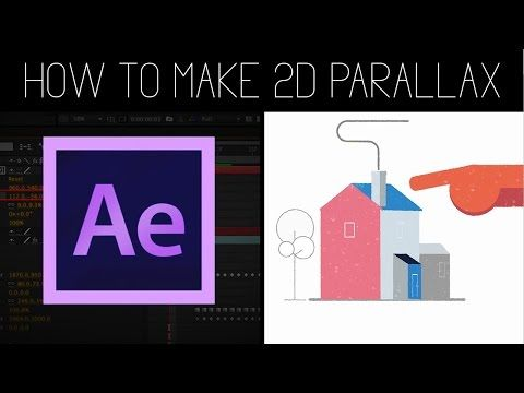 2D/3D Parallax Animation | After effects Tutorial + Project File! - YouTube