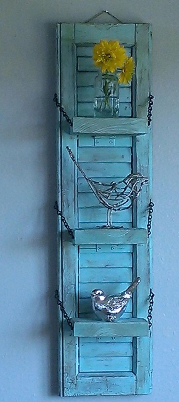 Best 25 rustic wall shelves ideas on pinterest living for Cool shelf ornaments