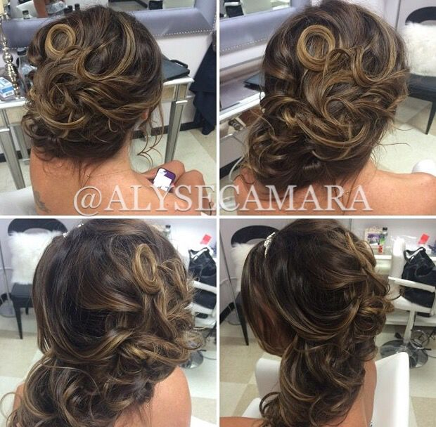 bridesmaid hair style 52 best hair by alyse images on bridal hair 2364