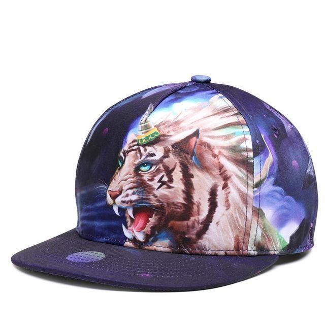 NEW - Fantasy Tiger Design Baseball Cap For Men And Women UNISEX #HatsForWomenHipster