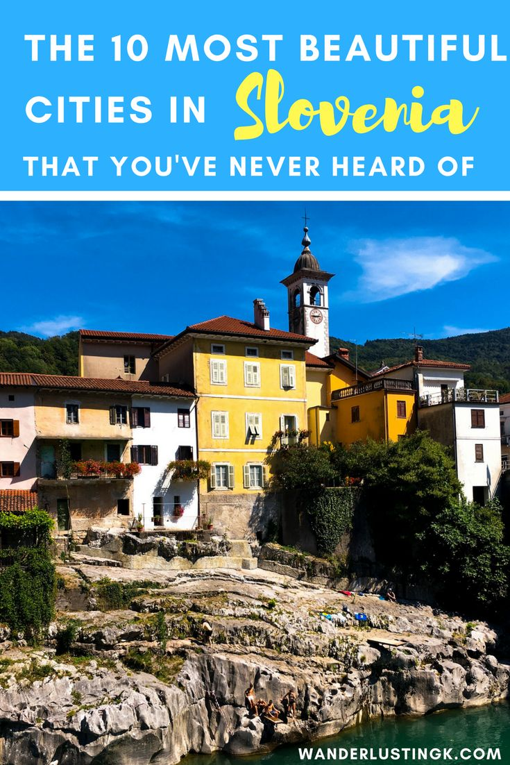 Visiting Slovenia and wondering what cities to see on a Slovenian road trip? Read about 10 little-known beautiful Slovenian cities that you must see!