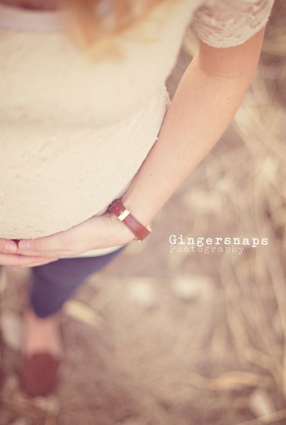 Maternity pictures - love the angle and crop
