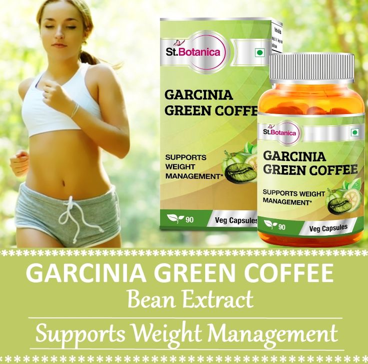 St.Botanica Garcinia Green Coffee Bean Extract For Weight Management Available Online, Shop Now !!!