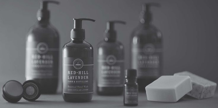 Red Hill Lavender | Packaging Design | Ennis Perry Creative