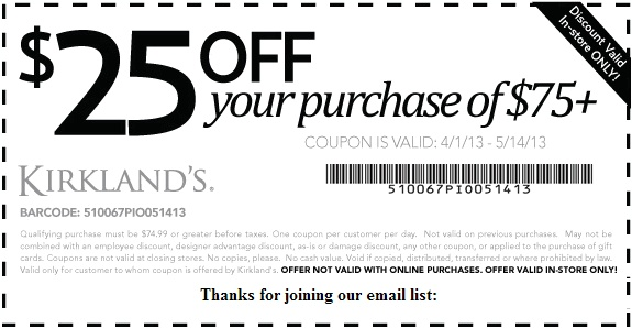 REPIN Kirklands Coupons 15 Off   Printable Coupons   Pinterest   Coupons,  Printable Coupons And Craft