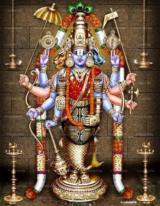 Dasavadara Perumal-Magnify to see the 10 Avadars of Lord Vishnu
