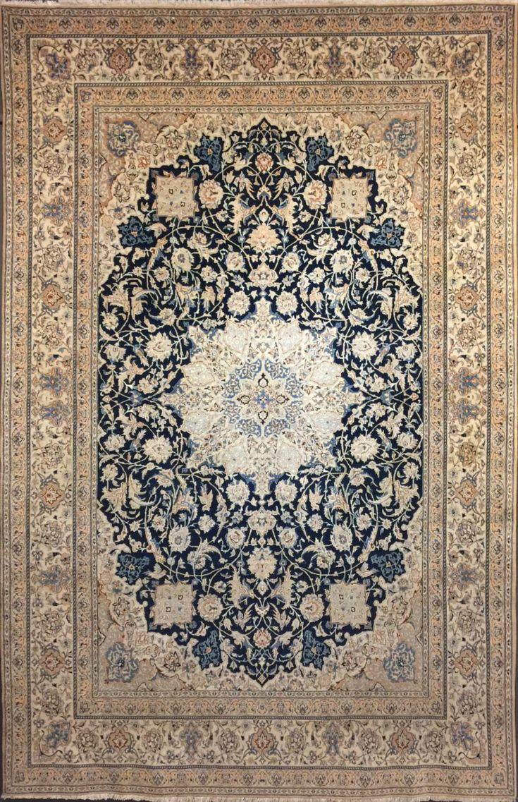tappeto Nain tudeshk antico extra fine size333x217 cm
