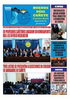buenosdiascanete.blogspot.com: DIARIO DIGITAL BUENOS DIAS CAÑETE,EDICIÓN 27 NOVIE...