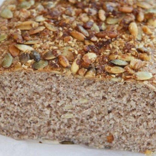 Pan integral energético con mix de semillas | La Bioguía