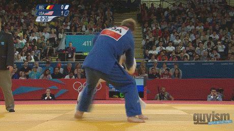 Nick Delpopolo USA Olympic Judo win round of 16