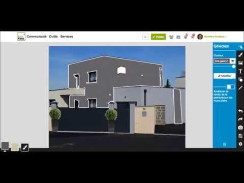 simulation peinture salon gratuit elegant trs simulation peinture murale gratuit with. Black Bedroom Furniture Sets. Home Design Ideas
