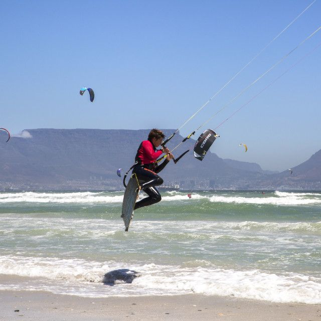Jumping into the record books - Virgin Kitesurfing Armada South Africa