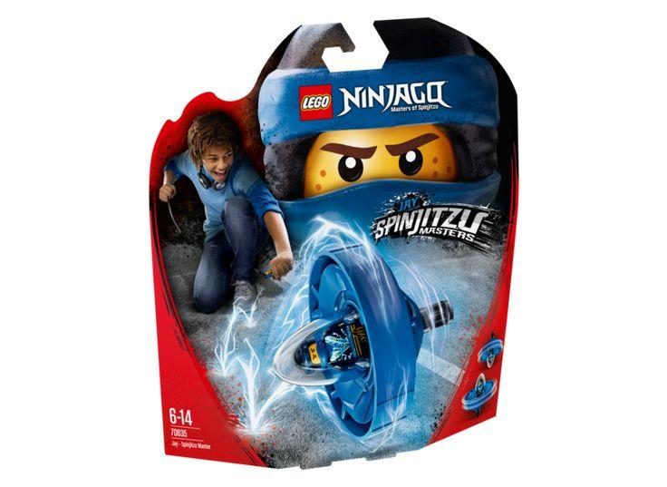 LEGO NINJAGO 70635 Jay Spinjitzu Master
