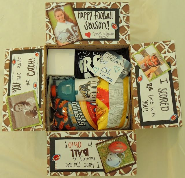 Missionary Package Ideas: Football theme