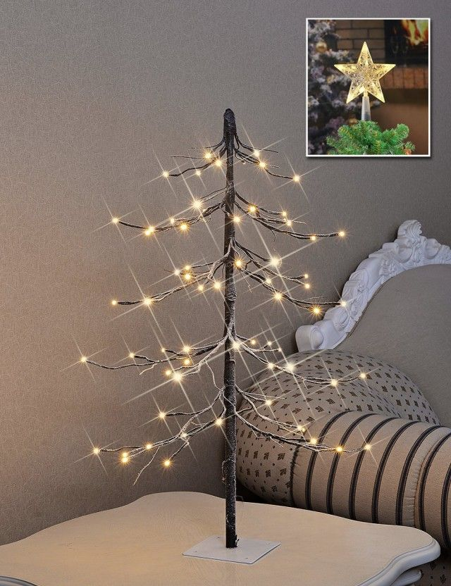 Christmas Lights in Bedroom Snowtree