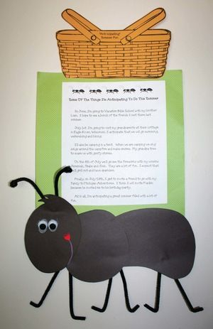ant activities, end of the year activities, end of the year crafts, end of the…