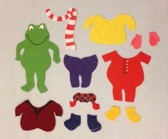 Best 25 froggy gets dressed ideas on pinterest froggy goes to felt board story set froggy gets dressed by applebearfeltstory 1967 pronofoot35fo Images