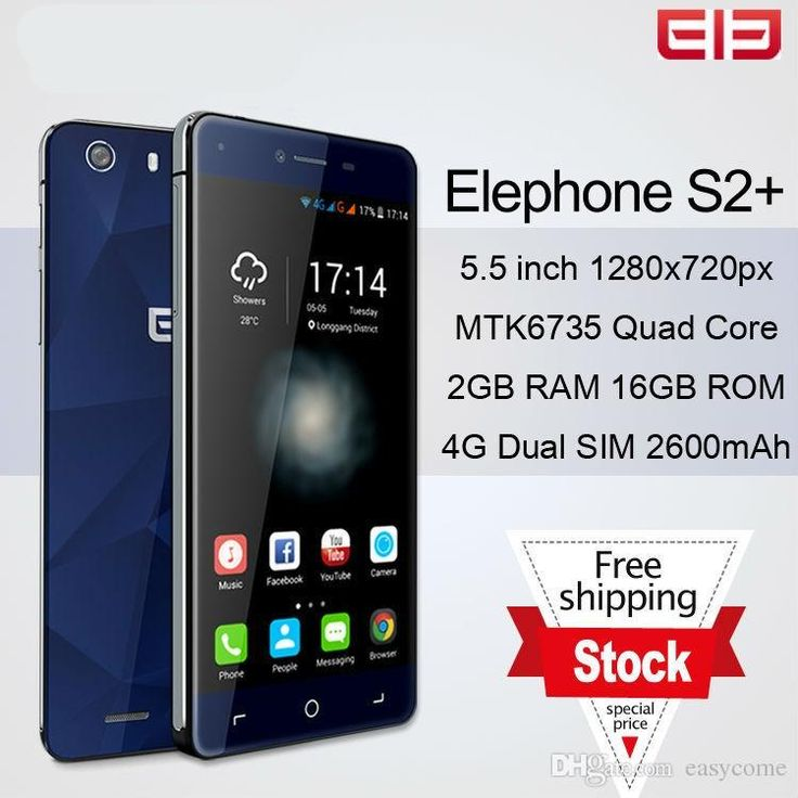 Android Phone List Elephone S2 Plus 5.5 S2 5.0 Mtk6735 Quad Core Android 5.1 Cellhone 4g Lte 2gb+16gb 13.0mp Dual Sim Smartphone Newest Cell Phones