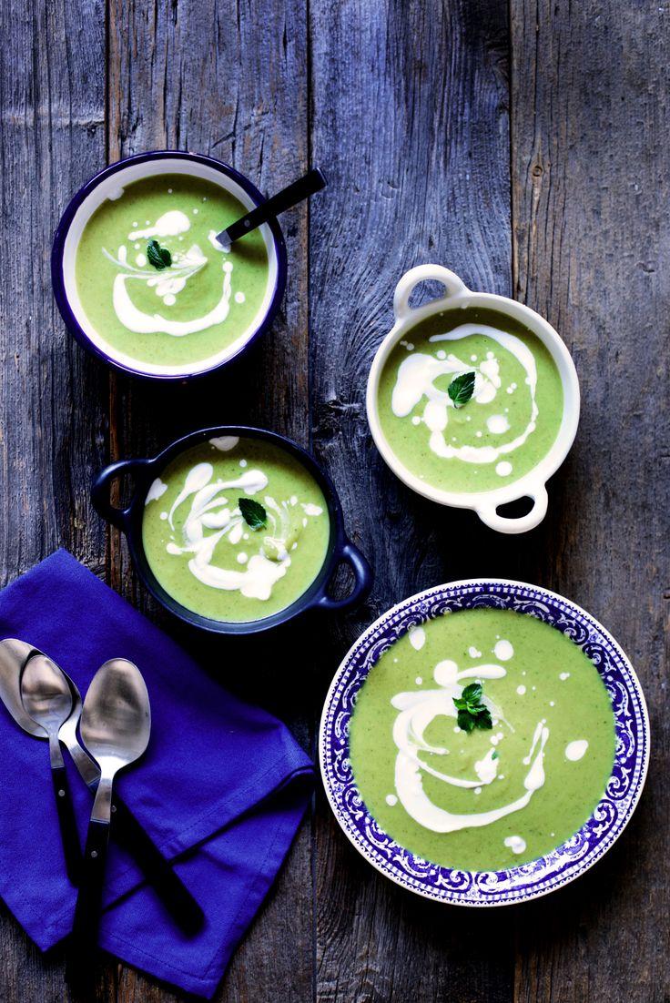 Soup Recipe: Cream of Broccoli Soup #vegan #recipes #healthy #plantbased #glutenfree #whatveganseat #soup