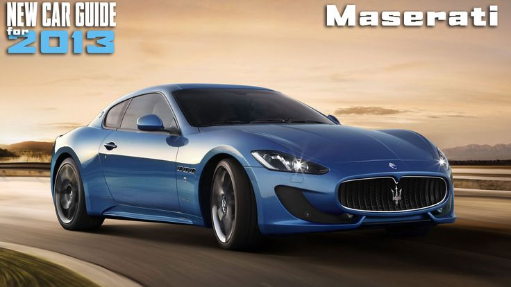 New Maserati Models for 2013